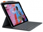 Logitech Slim Folio Keyboard Case for 10.2 Inch iPad (7th Gen) - Graphite