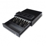 Maken EK-330 24V 4 Note 8 Coin Small Cash Drawer - Black