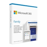 Microsoft 365 Family 1 Year Subscription for PC & Mac - Retail Pack