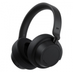 Microsoft Surface Headphones 2 USB-C 3.5mm Bluetooth Over the Head Wireless Headset with Noise Cancelling - Matte Black