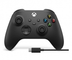 Microsoft Xbox Wireless Controller with USB-C Cable -Black