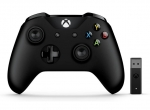 Microsoft Xbox Wireless Controller with Wireless Adapter for Windows 10 - Black