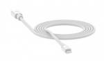 Mophie 1.8m USB-C to Lightning Braided Charge & Sync Cable - White
