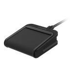 Mophie Charge Stream Pad Mini Wireless Charge Pad - Black
