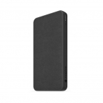 Mophie Powerstation Fabric 10000mAh Dual Port USB-C & USB Type-A Power Bank - Black