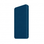 Mophie Powerstation Fabric 10000mAh Dual Port USB-C & USB Type-A Power Bank - Navy Blue