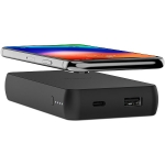 Mophie Charge Stream Powerstation Wireless 6040mAh Battery Power Bank - Black