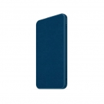Mophie Powerstation Mini Fabric 5000mAh Dual Port USB-C & USB Type-A Power Bank - Navy Blue