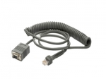 Zebra Scanner RS232 Data Cable 2.8 Meters Coiled