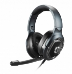 MSI Immerse GH50 USB 2.0 Overhead Wired Gaming Headphones - Black