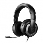 MSI Immerse GH61 USB 2.0/3.5mm Overhead Wired Gaming Headphones with 7.1 Surround