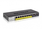 Netgear 8-Port Gigabit PoE+ Ethernet Smart Switch with 2 Copper Ports & Cloud Management