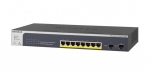 Netgear ProSafe GS510TPP 8-Port Gigabit Ethernet High-Power PoE+ Smart Switch with 2 Dedicated SFP Ports (190W)