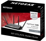 Netgear Nighthawk X4S AC2600 VDSL/ADSL Dual Band Gigabit Smart WiFi Modem Router