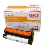 Oki C32BDRUM Black Imaging Drum Unit for Oki C3200