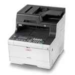 Oki MC563DN 30ppm Duplex Network Colour Laser Multifunction Printer + 3 Year Warranty Extension Offer + Warranty Extension Offer!