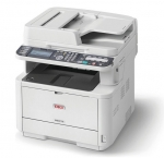 OKI MB472DNW Duplex 33pm Network Wireless Monochrome Laser Multifunction Printer + 3 Year Warranty Extension Offer!