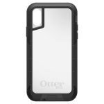 OtterBox Pursuit Series Case for iPhone X & Xs - Black & Clear