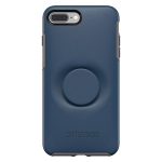 OtterBox + Pop Symmetry Case for iPhone 8 Plus & iPhone 7 Plus - Go To Blue