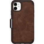 OtterBox Strada Folio Case for iPhone 11 - Espresso Brown
