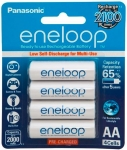 Panasonic Eneloop AA 2000mAh Rechargeable Batteries - 4 pack