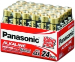 Panasonic Alkaline AAA Batteries - 24 Pack
