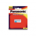 Panasonic CR123A 3V Photo Lithium Camera Battery
