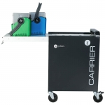 PC Locs Carrier 20 Charge Cart - 20 Chromebook & Tablet Devices