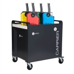PC Locs Carrier 40 Cart - 40 Bay Charging & Storage Cart