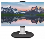 Philips Brilliance 329P9H 31.5 Inch 3840x2160 4K 5ms 350nit IPS Monitor with Speakers, Webcam & USB-C Dock - HDMI, DisplayPort, USB-C
