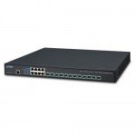 Planet XGS-6350-12X8TR 8 Port Gigabit Ethernet 10/100/1000T Layer 3 Managed Switch + 12x 10G SFP+ with Redundant Power Supply
