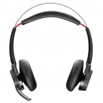 Poly Voyager Focus B825-M UC MS Wireless Stereo Bluetooth Noise Cancelling Headset - Optimised for Microsoft Skype for Business