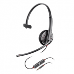 Plantronics Blackwire 215 UC Wired Over Head 3.5mm Mono Headset