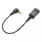 Plantronics Quick Disconnect to 2.5mm Adapter Cable