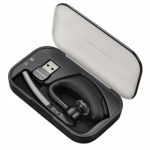 Poly Voyager Legend B235 UC Wireless Mono Bluetooth On Ear Headset with Charging Case & Desktop Stand