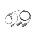 Plantronics Y-Adapter Quick-Disconnect Trainer Kit with Mute Capability