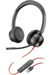 Poly Blackwire 8225 USB-A Over the Head Wired Stereo Headset