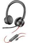 Poly Blackwire 8225 USB-C Over the Head Wired Stereo Headset