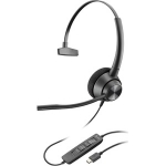 Poly Encorepro EP310 USB-C Over The Head Wired Mono Headset with Noise Cancelling - Black