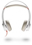Poly Blackwire 7225 UC USB-A Over the Head Wired Stereo Headset with Active Noise Cancelling - White