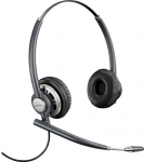 Poly Encorepro HW720 Quick Disconnect Over the Head Wired Stereo Headset with Noise Cancelling