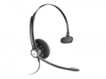 Poly Entera HW111N Quick Disconnect Over the Head Wired Mono Headset with Noise Cancelling