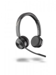 Poly SAVI 7220 Office Series UC DECT Over the Head Wireless Stereo Headset with Noise Cancelling