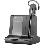 Poly SAVI S8240-M UC MS Bluetooth Convertible Wireless Mono Headset with Noise Cancelling - Optimised for Microsoft Business Applications