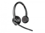 Poly Savi W8220-M UC MS Bluetooth DECT Over the Head Wireless Stereo Headset - Optimised for Microsoft Business Applications