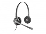Poly SupraPlus H261H Quick Disconnect Over the Head Wired Stereo Headset with Hearing Aid Compatibility