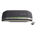 Poly Sync 20+ MS USB-A Bluetooth Smart Speakerphone with BT600 USB-A Dongle - Optimised for Microsoft Business Applications