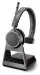 Poly Voyager 4210 Office USB-A Bluetooth Over the Head Wireless Mono Headset with 2 Way Base