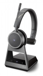 Poly Voyager 4210 Office MS USB-A Bluetooth Over the Head Wireless Mono Headset with 2 Way Base