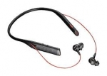 Poly Voyager B6200 UC USB-C Bluetooth Behind the Neck Wireless Stereo Headset with Noise Cancelling - Black